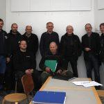 Håndværkere, bestyrelsesmedlemmer og arkitekten