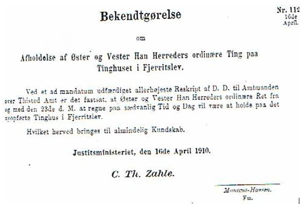 lovtidende 1910